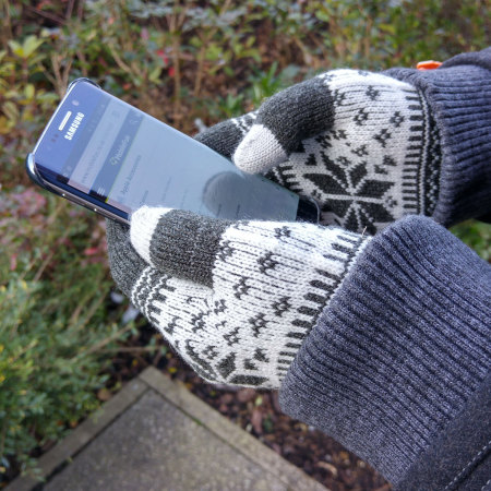 phone proporta unisex touch screen gloves dark grey looked the net