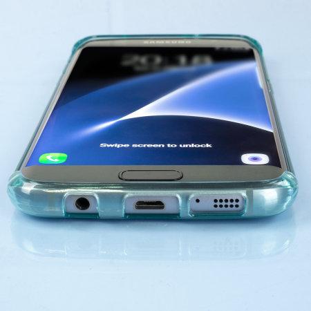flexishield samsung galaxy s7 edge gel case blue for