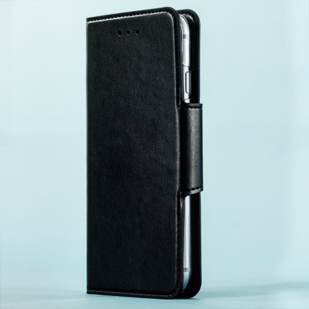 hansmare leather style super slim iphone 6s 6 wallet case black hours