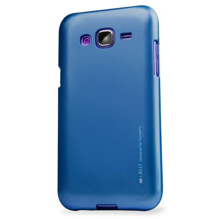mercury goospery ijelly samsung galaxy j5 2015 gel case blue mobilezap australia. Black Bedroom Furniture Sets. Home Design Ideas