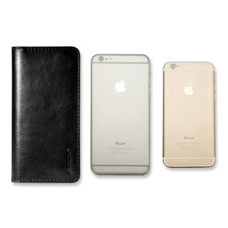 jison case genuine leather universal smartphone wallet case black the best free
