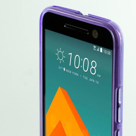 (0)no (0) olixar flexishield htc 10 gel case purple very heavy
