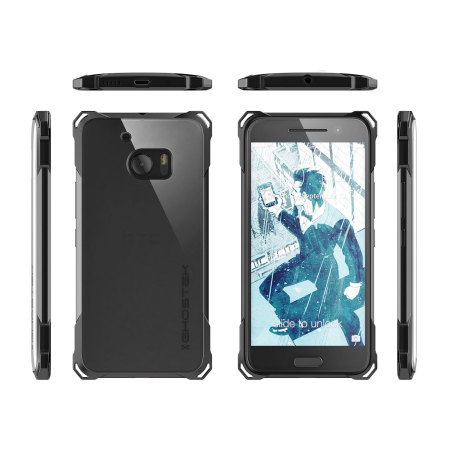need update android ghostek covert htc 10 bumper case clear black 5 uses