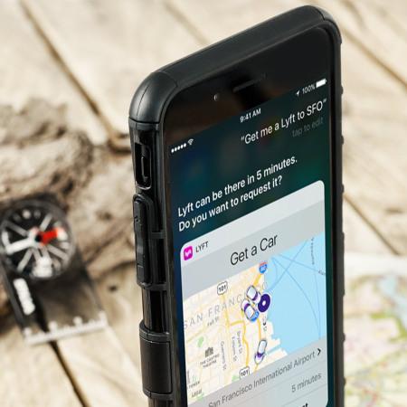 olixar armourdillo iphone 7 plus protective case black