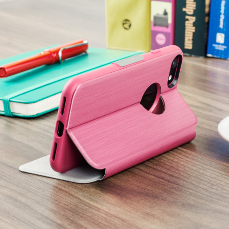 zte n919d dual moshi sensecover iphone 7 smart case rose pink