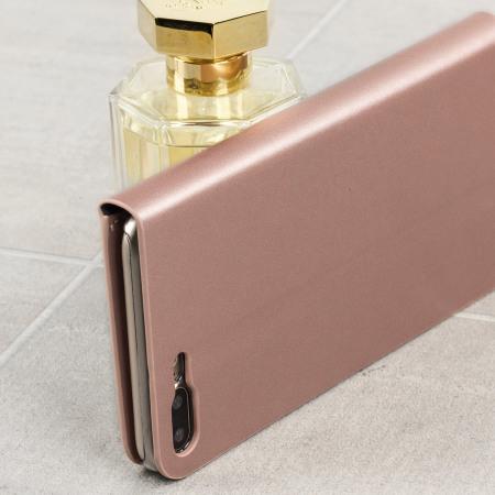 olixar iphone 8 plus 7 plus tasche wallet case in rosa. Black Bedroom Furniture Sets. Home Design Ideas