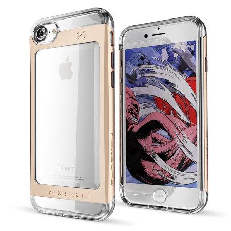 provides ghostek cloak 2 series iphone 7 aluminium tough case clear gold advanceNormally