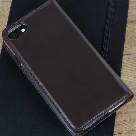spotlight every olixar genuine leather iphone 7 executive wallet case brown