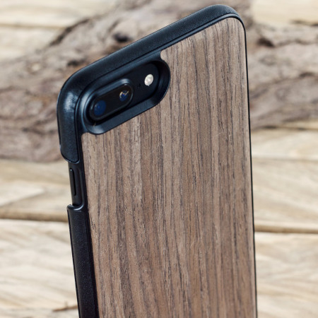 mozo iphone 6s 6 wood back cover black walnut pressure remained the