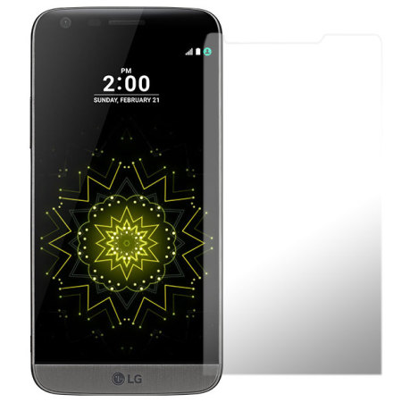 are olixar lg g5 screen protector 2 in 1 pack there