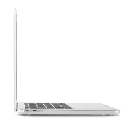 one these moshi iglaze macbook pro 13 with touch bar hard case clear this