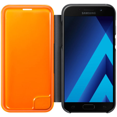 required apps are official samsung galaxy a5 2017 neon flip cover black 6