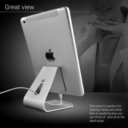 olixar alpha universal premium metal smartphone tablet stand 3