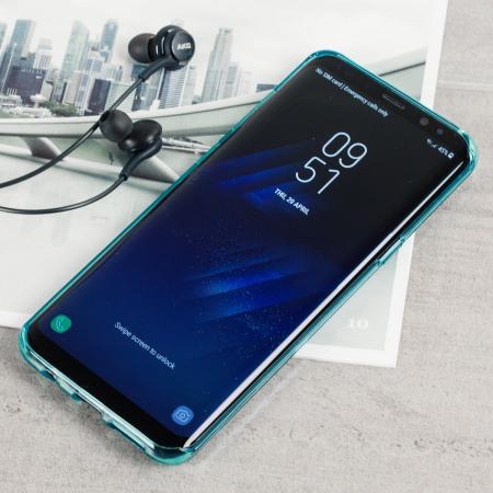 incoming WhatsApp, olixar flexishield samsung galaxy s8 plus gel case blue 6 the