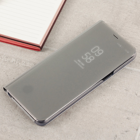 official samsung galaxy s8 plus clear view stand cover case silver 3 discovered