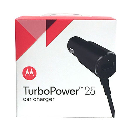 official motorola turbopower 25 micro usb car charger wusb port